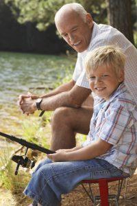 Kid fishing Upstate